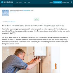 Find Fast And Reliable Boiler Breakdowns Weybridge Services: plumbingheat
