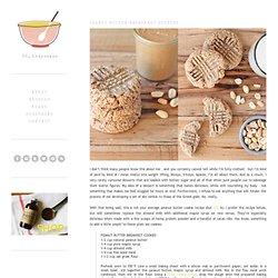 oh, ladycakes: Peanut butter breakfast cookies