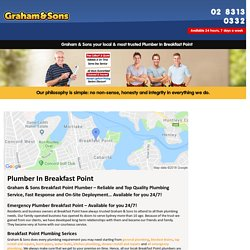 Emergency Plumber – Graham & Sons Plumbing