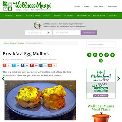 Breakfast Egg Muffins — Wellness Mama