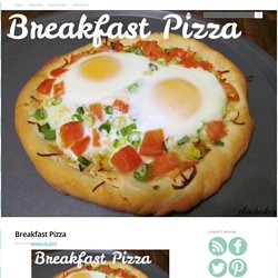 Breakfast Pizza - Paint Chips And Frosting
