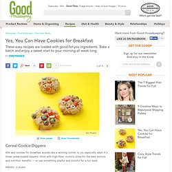 Breakfast Cookie Recipes - Cookies for Breakfast