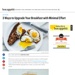 Easy Breakfast Recipes for Better Mornings