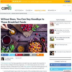 Breakfast Is At Risk If We Don't Do Something About The Bees