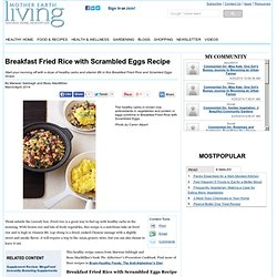 Breakfast Fried Rice with Scrambled Eggs Recipe