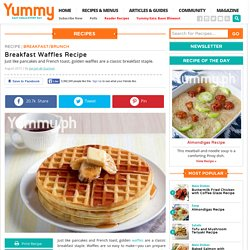 Breakfast Waffles Recipe