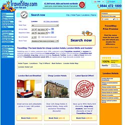 Hotels in London | Cheap London Hotels | London Accommodation