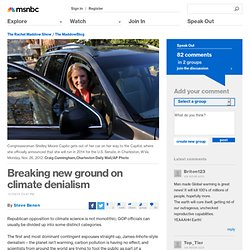 Breaking new ground on climate denialism