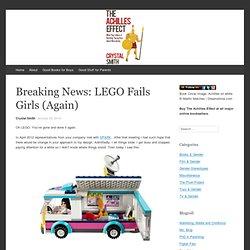Breaking News: LEGO Fails Girls (Again)