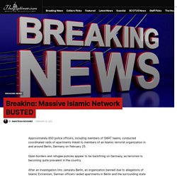 Breaking: Massive Islamic Network BUSTED