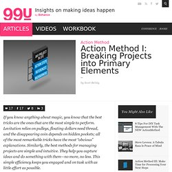 Action Method I: Breaking Projects into Primary Elements