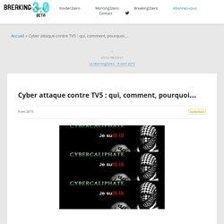Breaking3zero : Breaking News, infos et décryptages
