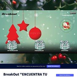 Plantilla Genially reutilizable - BreakOut - Encuentra tu regalo by PILAR FERNANDEZ VIDAL