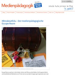 #BreakoutEdu – Der medienpädagogische Escape Room