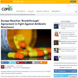 Europe Reaches 'Breakthrough' Agreement In Fight Against Antibiotic Resistance