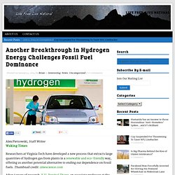 Another Breakthrough in Hydrogen Energy Challenges Fossil Fuel Dominance