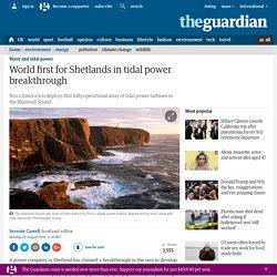 Shetland's World-Leading Tidal Power Breakthrough