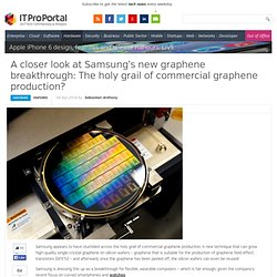 A closer look at Samsung's new graphene breakthrough: The holy grail of commercial graphene production?