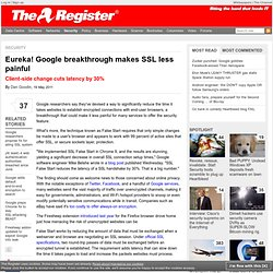 Eureka! Google breakthrough makes SSL less painful