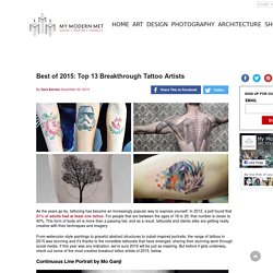 Best of 2015: Top 13 Breakthrough Tattoo Artists