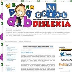 BREAL-Dislexia: Tema 3) Tipos de Dislexia