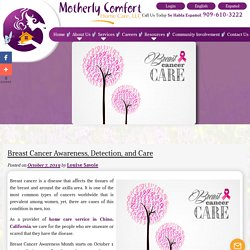 Breast Cancer Awareness, Detection, and Care