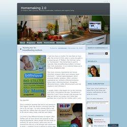 'Nursing tea' for breastfeeding mothers