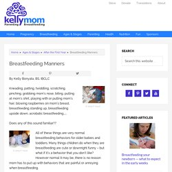Breastfeeding Manners