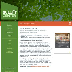 Efficient Air Exchange - Bullitt Center