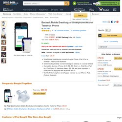 Bactrack Mobile Breathalyzer Smartphone Alcohol Tester: Amazon.co.uk: Electronics