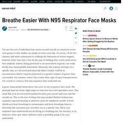 Breathe Easier With N95 Respirator Face Masks