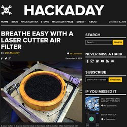 Breathe Easy with a Laser Cutter Air Filter