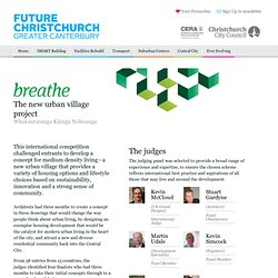 breathe - The new urban village project - Future Christchurch