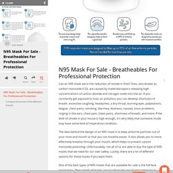 N95 Mask For Sale - Breatheables For Professional Protection