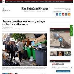 garbage collector strike ends