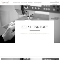 Breathing Easy  |  Seamwork Magazine