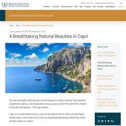 4 Breathtaking Natural Beauties in Capri