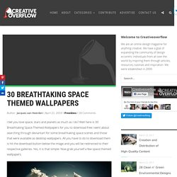 30 Breathtaking Space Themed Wallpapers