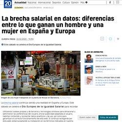 La brecha salarial en datos: diferencias entre lo que ganan un hombre y una mujer en España y Europa