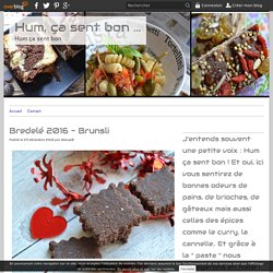 Bredelé 2016 - Brunsli