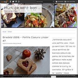 Bredelé 2016 - Petits Coeurs Linzer #7