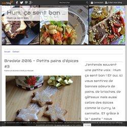 Bredele 2016 - Petits pains d'épices #3