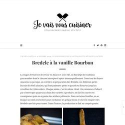 Bredele à la vanille Bourbon – je vais vous cuisiner