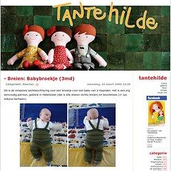 Breien: Babybroekje (3md)