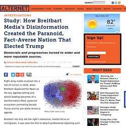 Study: How Breitbart Media's Disinformation Created the Paranoid, Fact-Averse Nation That Elected Trump