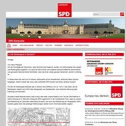 2 x 49. Breitengrad in Durlach? - SPD Karlsruhe