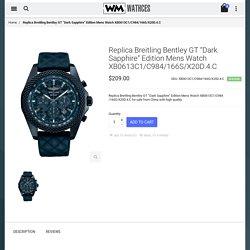 "Cheap Replica Breitling Bentley GT ""Dark Sapphire"" Edition Mens Watch XB0613C1/C984/166S/X20D.4.C For Sale"