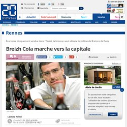 Breizh Cola marche vers la capitale