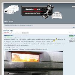Consulter le sujet - BMW e30 318 is