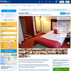 Amaris Hotel, Bremerhaven, Germany - Booking.com